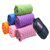 Lengthen thickening yoga blanket slip-resistant yoga towel yoga mat fitness blanket yoga mat +  mesh packets