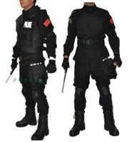 Black training uniform combat uniform camouflage set male training service cs field service camouflage set