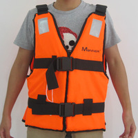Swimwear Manner adult life vest belt reflectors  inflatable boat rubber boat professional life vest Fish Wear Free Shipping