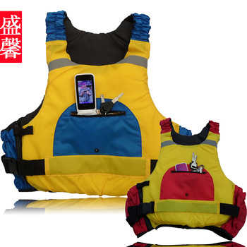 Xin05 lovers swimwear professional life vest life jacket fishing multi-pocket vest