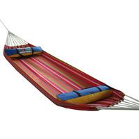 Good Quality Canvas Folding  hammock outdoor hammock Chair portable cloth bag swing lashing Free Shipping