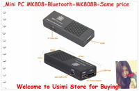 MK808B Mini PC WiFi 802.11b/g/n 10/100Mbps With internal Antenna Support External Storage via. Micro-SD card, Support up to 32GB