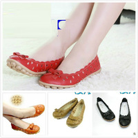 Free shipping, Summer, 2013, the end of tendon, leather, sandals,  mother shoes, flat heel, singles shoes