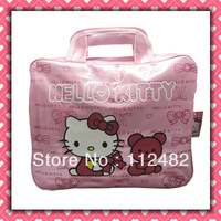 Free shipping Hello kitty laptop bags notebook bag notebook