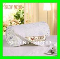 100% pure silk filling duvet 0.5kg silk comforter/silk doona for summe free shipping!