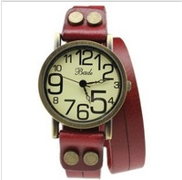 Free shipping!Hot new!The retro punk Ladies watch really belt Ladies Watches