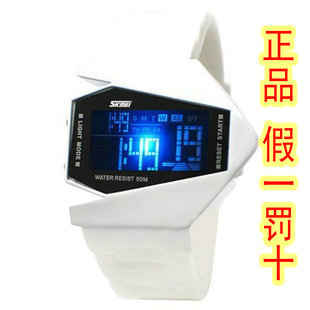 Fashion led watch waterproof lovers watch fashion table electronic watch