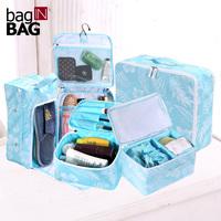 Baginbag storage bag five pieces set wash bag storage bag travel bag commercial storage