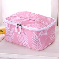 Baginbag cosmetic bag large capacity cosmetic storage bag pink decorative pattern