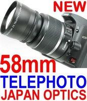 BRAND NEW 58mm TELEPHOTO Lens FOR ALL 58 mm LENS CANON