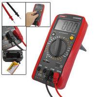 LCD Display AC DC Current Ammeter Ohmmeter UA9205N Digital Multimeter free shipping