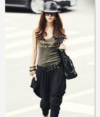 2013 new women's spring / summer 0870 Korean new major suit leisure style narrow foot trousers / pants / Haren(China (Mainland))