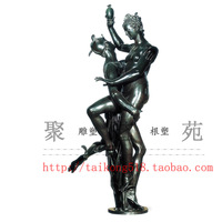 Customize fashion figure sculpture crafts sauna, spa decoration female statue