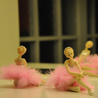 Ballet girl gift technology decoration home decoration modern fashion the new house