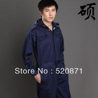 Hot sale one piece navy blue coveralls workwear dark blue