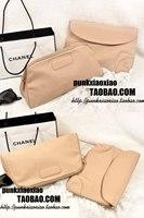 3.12 nude color a patch envelope bag storage bag day clutch