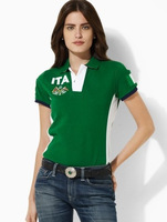 New hot Women's polo shirts Woman polo shirt Women's short sleeve shirts