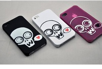 Free shipping!Cell phone case for iphone 4 4s/unique style/plastic fashion/50 Least For Wholesale