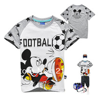 2013 Hot sales 6pcs/lots wholesales mickey Children T-shirt ,children's garments girl boys short-sleeved T shirt Free delivery