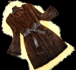 knitted mink coat Mink fur coats,Women's Knitted Mink Fur coats #D265(China (Mainland))