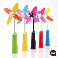 Ssys mini fan charge mini fan charge fan band flashlight hand-held fan