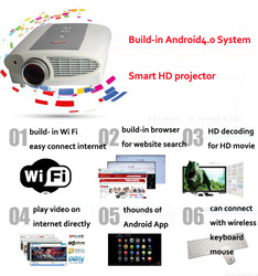 2013 Brand New,R/B 3D 1920*1080 Max support, led projector,overhead projector,game projector Free shipping(China (Mainland))