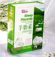 Free Shipping Anti-aging 10pcs/lot Sheep Placenta Facial/Face Mask