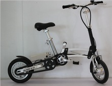 Electric bicycle one second folding electric bicycle light electric bicycle battery basic black