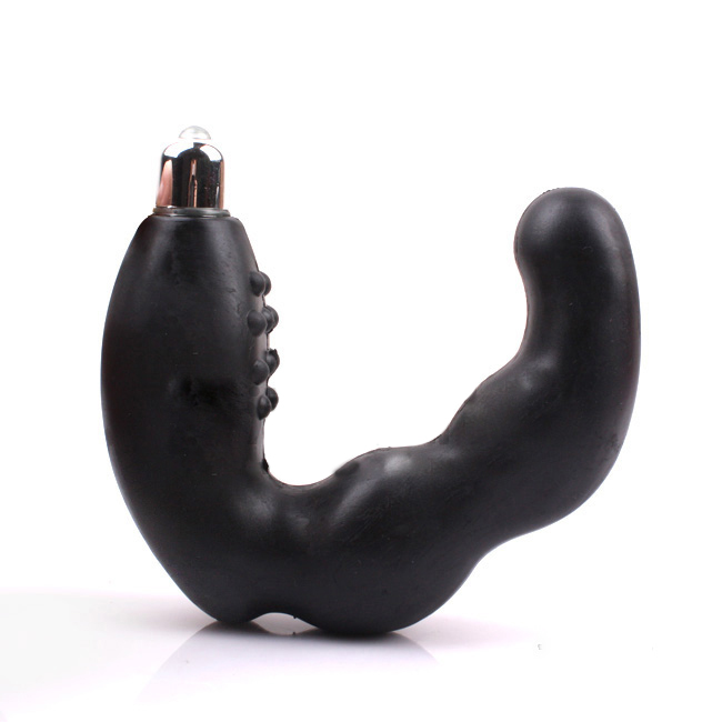 C prostate massage device men's backwoodsmen stick dildo vibrator(China (Mainland))