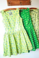 Fabric HARAJUKU side zipper big skirt slim waist tank dress one-piece dress