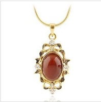 Free Shipping  Austrian crystal trendy necklace  high quality Neoglory Jewelry  retro stone  hotselling