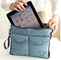 Organizer Hangbag Insert  purse Nylon Digital Organizer Bag cosmetic train casesTablet receive receive package
