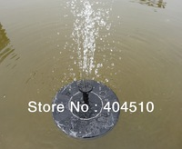 8V1.4W solar floats fountains, the 4 sprinklers floating solar brushless DC pump