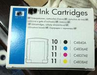 H 10 11 Original ink cartridge H 100/110/500/1000/K850 Original ink cartridge C4840A C4836A C4837A C4838A