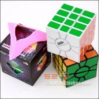 Mf8 White SSQ-1 4-Layered Super Square One Plastic Magic Cube Twist Puzzle Toy