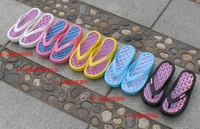 Free shipping: swing shoes beach flip-flops fashion slimming cool slippers