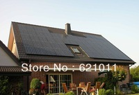 Home solar energy system, 10KW on grid solar generaror includes solar panels and10kw grid tie inverter, three phase output