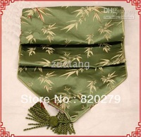 Holiday Table Runners Table Flag Wedding Home Office Decor Silk Flower Table Runner 3 pcs mix Free