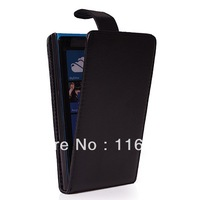 FLIP LEATHER HARD BACK CASE COVER FOR NOKIA LUMIA 920 FREE SHIPPING