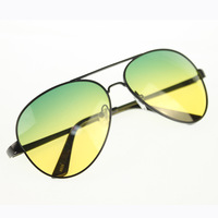 Brand New Fashion Day and night driving with two-color polarized sunglasses fishing glasses with box 516127