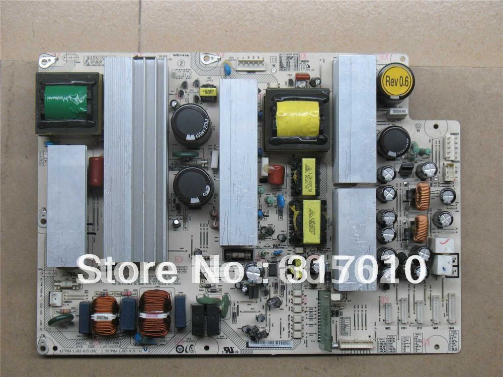 freeshipping !! new !! 50-inch plasma TV power supply board LJ41-05253A LJ92-01513A LJ92-01511Ashenfa(China (Mainland))
