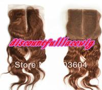 "Fashion Wig Peruvian Lace Closures 12"" #33 Body Wave Top Lace Closure(4""*4"")"