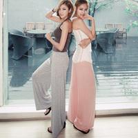 2013 women's loose plus size casual trousers wide leg pants yoga pants mid waist plus size