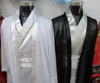 Men's hanfu male costume clothes black white sword customer service customer service