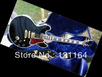 best Custom King Lucille Gloss Ebony Finish Varitone Switch 57 Classics electric guitar OEM Available Cheap