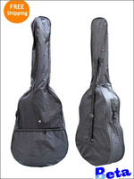 1pc black normal 41 inches Waterproof big Carrying Shoulder Straps Electric Acoustic Bass Guitar Bag Case free shipping