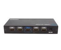 LKV314 1x4 HDMI Splitter 1 to 4 Port Full HD 1080P(hdmi 1.3)  Free Shipping