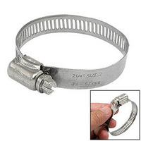 50 pcs Turbonetics Stainless 33-57mm Hose Hoop Clamp Size 3 Free shipping