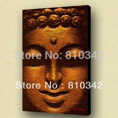 Buddha painting modern art home decorate wholesale high quality handicraft(China (Mainland))