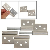 "4 Pcs Rectangular Leaf 2.9"" Door Gates Metal Flag Hinges Free Shipping"